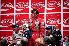 CARLOS REUTEMANN Williams FW07C vincitore BELGA GRAND PRIX 1981 fotografia 3