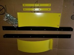"""54"""" SNOW PLOW BLADE EXTENSIONS & 1/4 THICK WEAR BAR TO 72"""" WIDE FITS JOHN DEERE"""