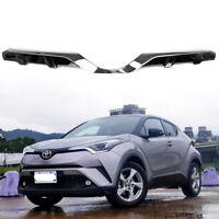 16-19 For TOYOTA C-HR SUV Hatcback Chrome + Paint Black Front Grille Japan Model