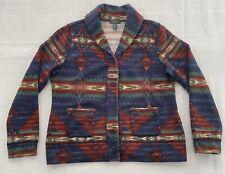 LRL Lauren Ralph Lauren Women's XL Aztec Navajo Shawl Cardigan Sweater