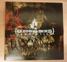 {BURNING SKIES} 'DESOLATION' - FULL ALBUM PROMO CD