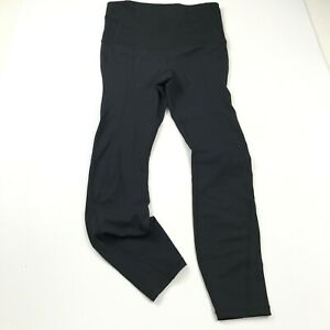 Gap Fit Maternity Compression Leggings Black Sculpt Pull On Stretch Womens Small