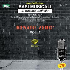 """BASI MUSICALI """"RENATO ZERO VOL.2"""" VOL.37 (2 CD)"""