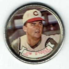 JIM O'TOOLE Reds ~ 1964 Topps Coin ~ FREE SHIPPING