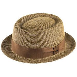 Bailey Hats Waits Pork Pie - Copper