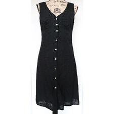Max Studio Women's Black Sleeveless Eyelet Embroidered Dress, Size Medium, NWT