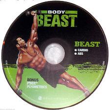 BODY BEAST - BEAST: Cardio + Abs + Bonus P90X PLYOMETRICS - New Fitness DVD