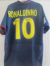 Barcelona 2002-2004 Away Ronaldinho Camiseta De Fútbol Adulto Tamaño Grande L/40611