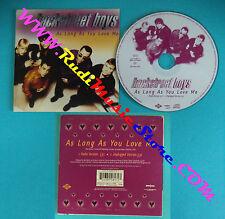 CD singolo Backstreet Boys As Long As You Love Me 7243 8 94817 2 CARDSLEEVE(S30)