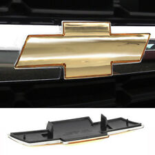 New CHEVY SILVERADO SUBURBAN TAHOE GRILLE EMBLEM NEW FRONT GRILL GOLD BADGE Logo