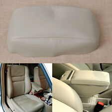 For 1998-2002 Honda Accord Beige Leather Center Console Lid Armrest Cover Skin