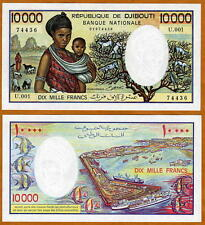 Djibouti 10000 10,000 Francs (1984) P-39 (39b), UNC >> Superb