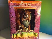 VINTAGE INHUMANOIDS ACTION FIGURE NIB BOX HASBRO 1986 METLAR GIANT MONSTER LAVA
