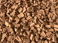 1/35 SCALE MODEL DIORAMA BUILDING 150 TERRACOTTA BRICKS L11,5mm W5,5mm H3,5mm