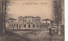 NP5137 - SAN GIORGIO DI NOGARO UDINE - MUNICIPIO ANIMATA NON VIAGGIATA