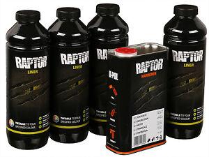 UPOL RAPTOR Pick Up Transportflächen Beschichtung schwarz 3,79Ltr. inkl. Härter