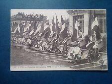 L596. Cpa. 69. Lyon. Exposition Internationale 1914. Les Pouss Pouss