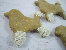 SnickerPoodles Gourmet Dog Treats Homemade Biscuits Poodle Shaped Pet Cookies