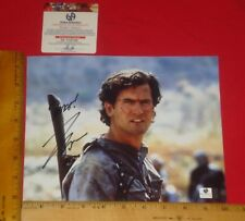 """REAL Authentic-Bruce Campbell Signed 8""""X10"""" Color Photo Global /GA/GAI/GV RARE"""