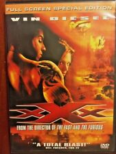 Xxx (Dvd, 2002, Full Screen Special Edition) Vin Diesel World Ship Avail