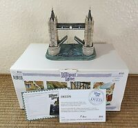 Lilliput Lane Tower Bridge Diamond Jubilee Ltd Edtn 0341 Boxed with Deeds L2213a