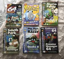 X6 Nintendo 64 N64 Magazine Game Guides