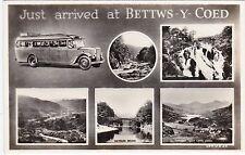 Motor Bus Multiview, BETTWS Y COED, Caernarvonshire RP