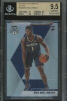 2020 Mosaic Prizm Zion WIlliamson Silver Gem Mint 9.5 BGS Rookie RC Pelican