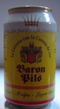 BARON PILS 2,5% VOL 33 CL HOLANDA YELLOW Lata vieja llena can dosen lattina