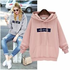 Women's Winter Autumn Hoodie Sweatshirt Hooded Jumper Sweater Pullover Tops Coat