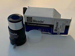 Meade 07278 Telenegative Barlow lens. New & unused. Damaged box.