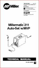 Millermatic 211 Auto Set Withmvp Technical Manual Eff With Lj330001n