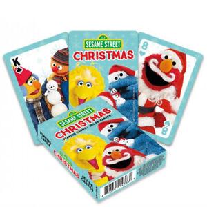 Sesame Street Christmas set of 52 playing cards (+ jokers) (nm)