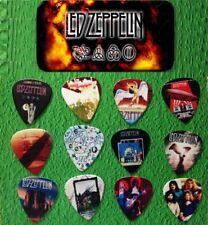 LED ZEPPELIN Guitar Pick Tin Includes Set of 12 Guitar Picks