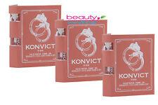Konvict Femme by Akon 3PC 2ml Eau De Parfum Sample For Women New On Card