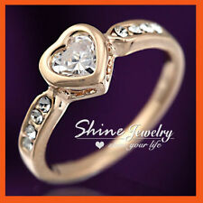 Unbranded Rose Gold Love & Hearts Fashion Rings