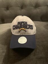 Los Angeles Chargers New Era NFL Women Grey Blue Hat Cap Adjustable Fit!! New!!