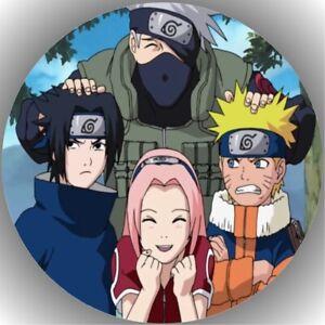 Tortenaufleger Geburtstag Tortenbild Fondant Oblate Naruto L18