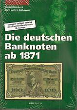 Die deutschen Banknoten ab 1871, Rosenberg / Grabowski, 18. Auflage, 2011