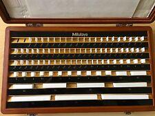 Conjunto de bloques de calibre Mitutoyo-cerámica, métrica, grado 1 516-371-01
