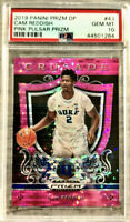 2019-20 Panini Cam Reddish Pink Pulsar Prizm Rookie Card Rc PSA 10 GEM Mint Hawk