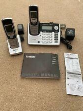 Uniden Clx-485 5.8 Ghz Digital Expandable Cordless Phone 9 (2 Handsets)