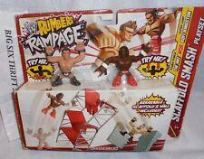WWE Rumblers Rampage The Miz and Kofi Scaffold Play Set  Mattel Mini Figures