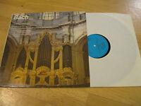 LP Bach Orgelwerke 21 Fünf Orgelkonzerte Vinyl Eterna DDR Edition 8 26 352
