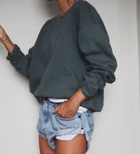 New One Teaspoon Vintage Bandits Size S (RRP $120) Denim Shorts