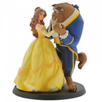 Disney Enchanting Belle Beauty and the Beast Wedding Cake Topper - Brand New