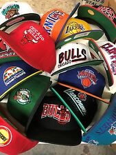 US lot of 15 NEW closeout Wholesale mens NBA snapbacks hats caps assort/mix osfa