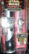 STAR WARS COLLECTORS WATCH C3PO MINT IN BOX AS SHOWN
