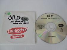CD Pop Oli.P -Petzokat Alles ändert sich 1 titre- Big Brother-(CD Single)-Battle