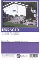Landscape Plans Terraced Side Yard Brick Paver Layout Landworks Design Group DIY